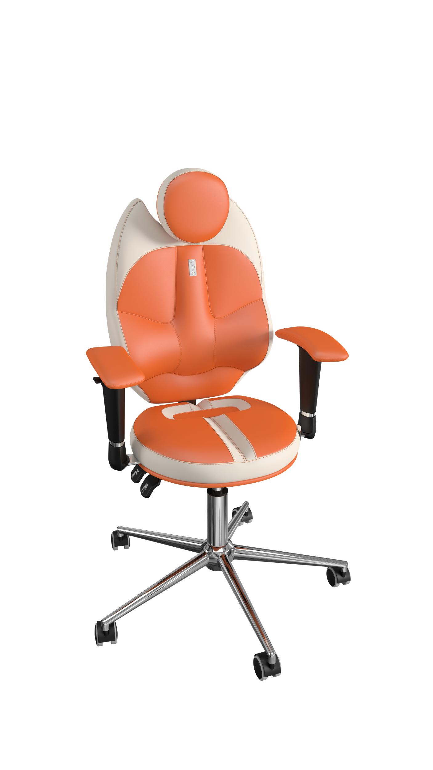 Užvalkalas - ekooda oranžinė/balta